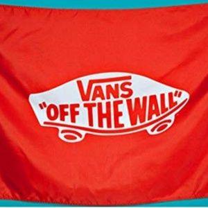 Brand New. Vans Flag